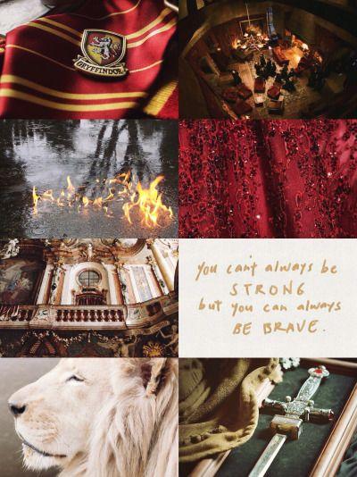 Hogwarts Houses Aesthetics Gryffindor Harry Potter Wallpaper Gryffindor Harry Potter Aesthetic