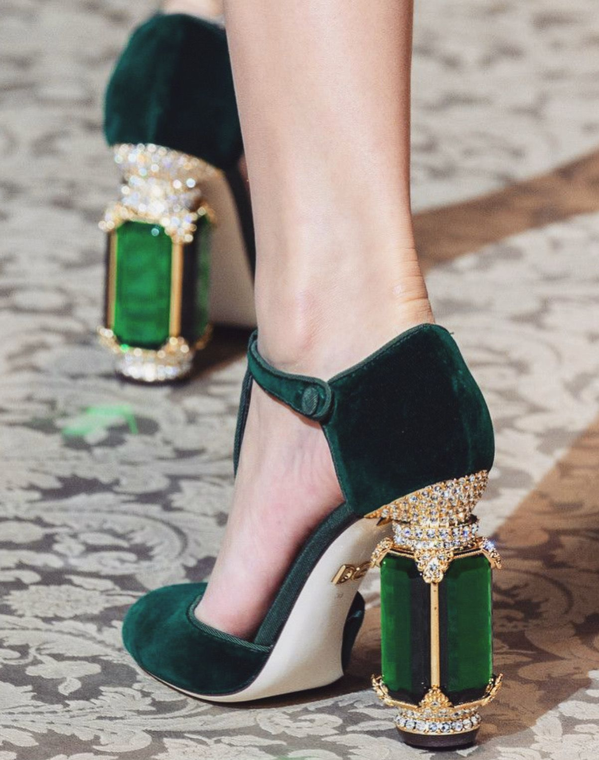 f7aec01a7066b Dolce & Gabbana F/W 2018 | Shoes | Shoes, Fashion, Shoe boots