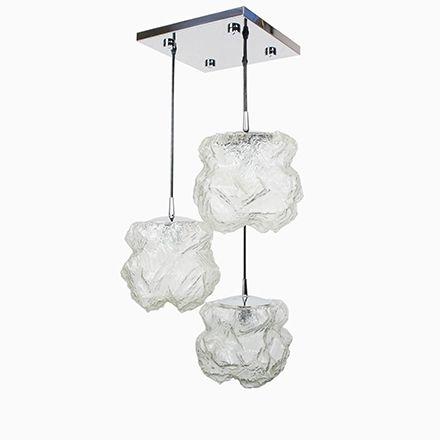 Alaska Deckenlampe von Peill  Putzler, 1970er Deckenleuchten - deckenleuchten für badezimmer