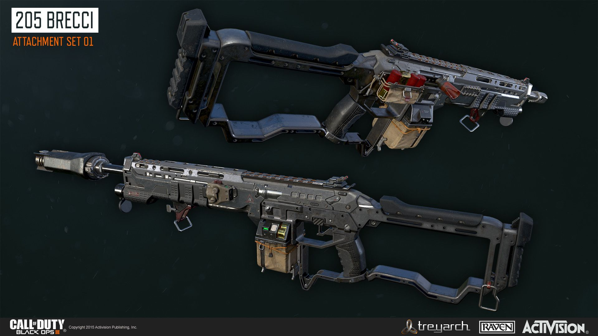 Black Ops 4 Attachments