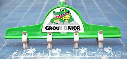 Grout Gator The Grommet Com Tile Cleaning Brush Starting At 29 95 Now Clean The Grout Between Multiple Tiles At Once With A Grout Cleaner Clean Tile Grout