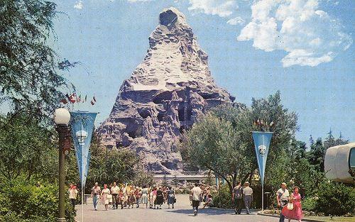 Disneyland Matterhorn Vintage Disneyland Disneyland Matterhorn