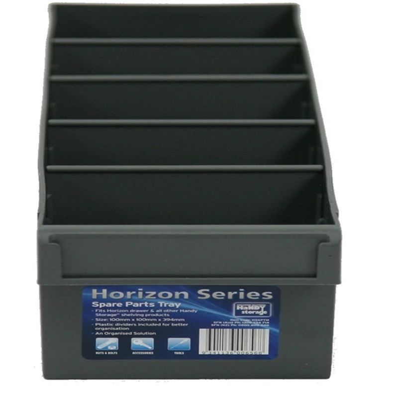 Find Handy Storage Medium Grey Spare Parts Tray At Bunnings Warehouse Visit Your Local Store For The Widest Range Of Storage Storage Shelving Solutions Handy