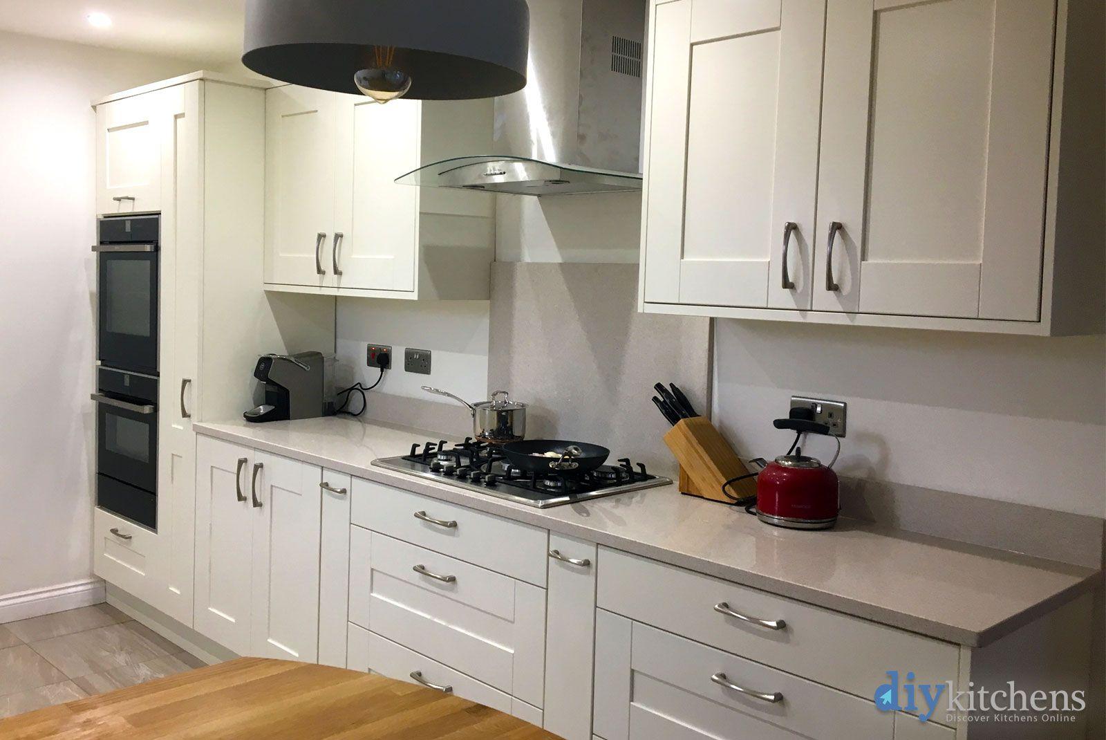 An Innova Clayton Alabaster Shaker Kitchen Kitchen Diy Kitchen