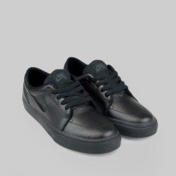 Nike Sb Satire Leather Trainers Black Black Anthracite Skate