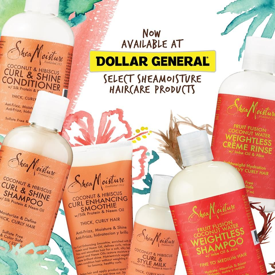 Find Your Favorite Sheamoisture Products At Dollar General Shea