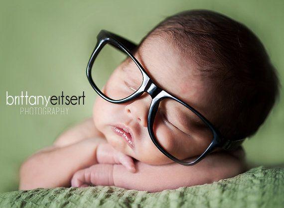 Newborn infant baby toddler kid plastic nerd glasses frames only no
