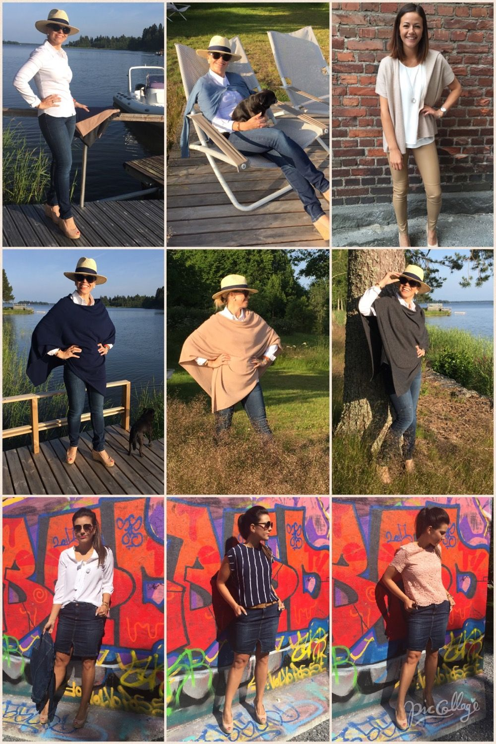 July 2015 outfits