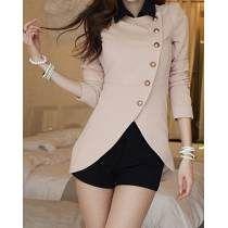 28891563c7d2 sacos elegantes de mujer moda coreana - Buscar con Google   Sacos ...
