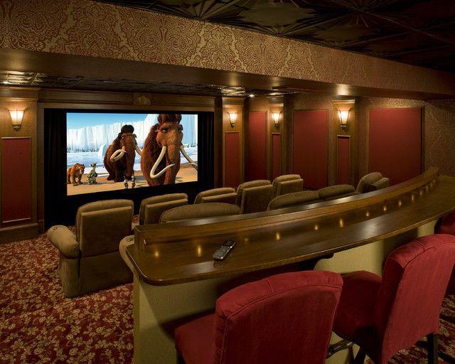 15 Awesome Basement Home Theater [Cinema Room Ideas]