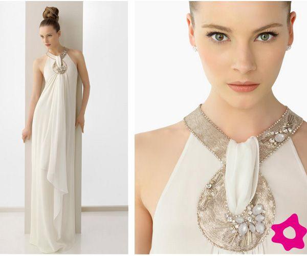 Vestidos de novia para bodas civiles | Civil | Pinterest | Boda ...