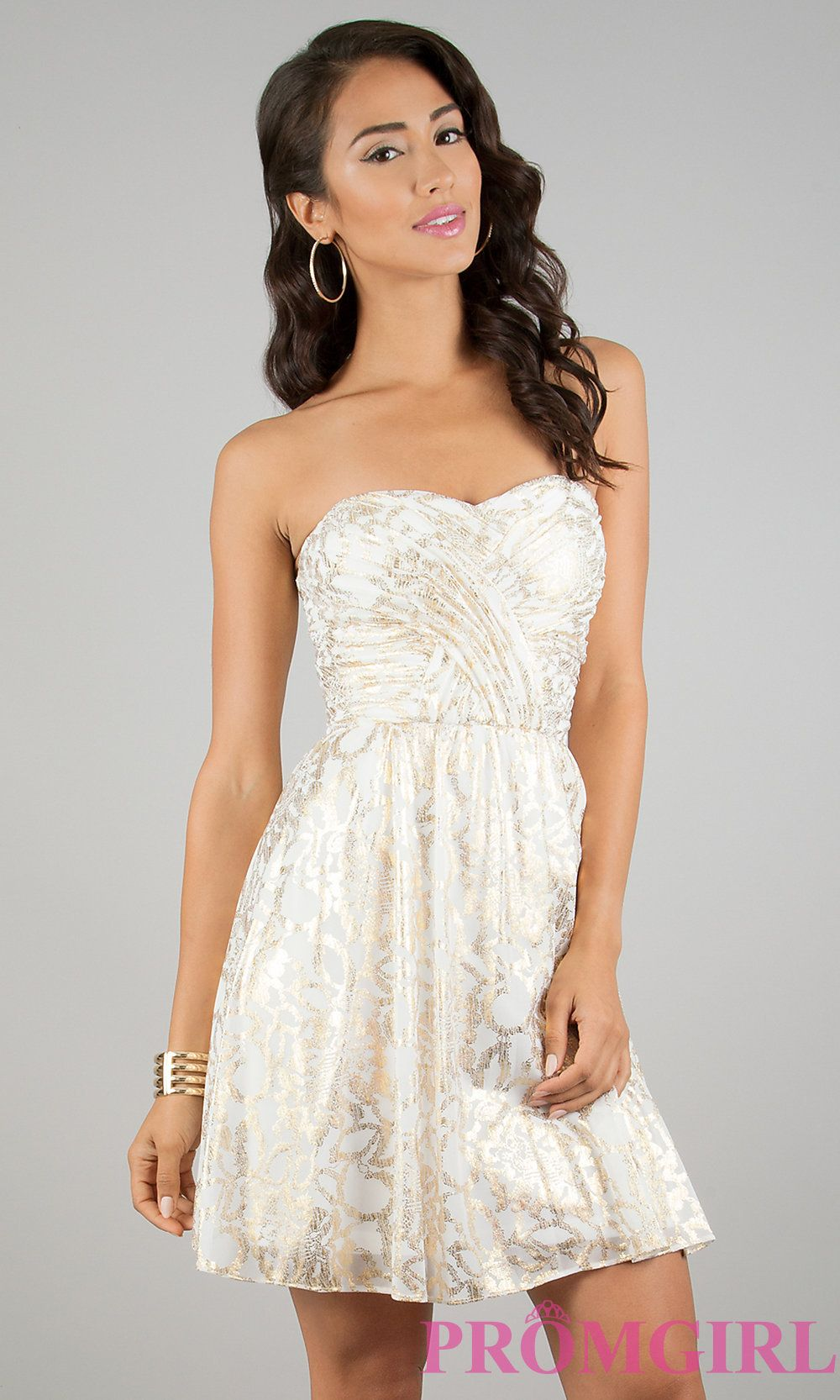 Short prom dress style hls front image for meg