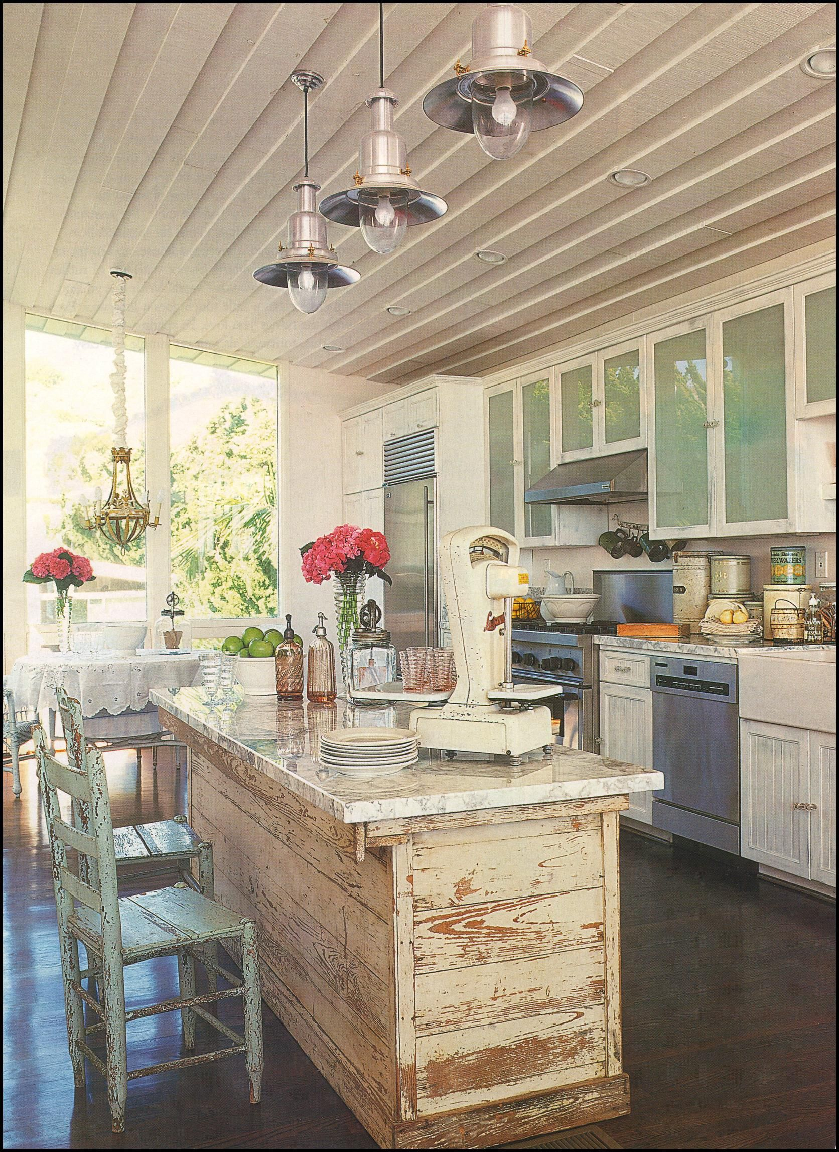 love the rustic elements of this kitchen   Kitchens   Pinterest