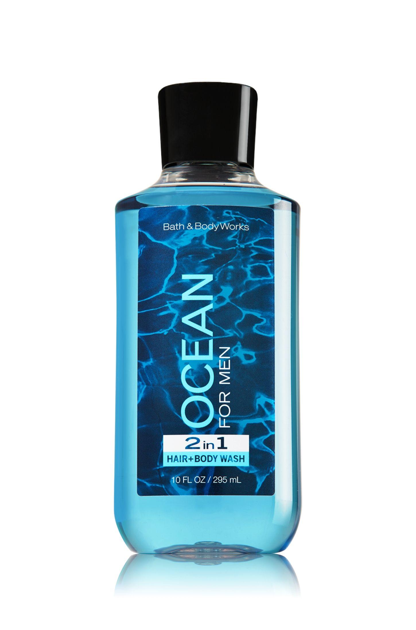 Ocean 2 In 1 Hair Body Wash Signature Collection Bath Body