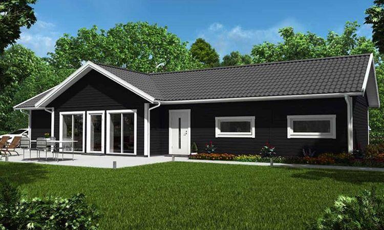 maison suedoise en bois next house ventana blog. Black Bedroom Furniture Sets. Home Design Ideas