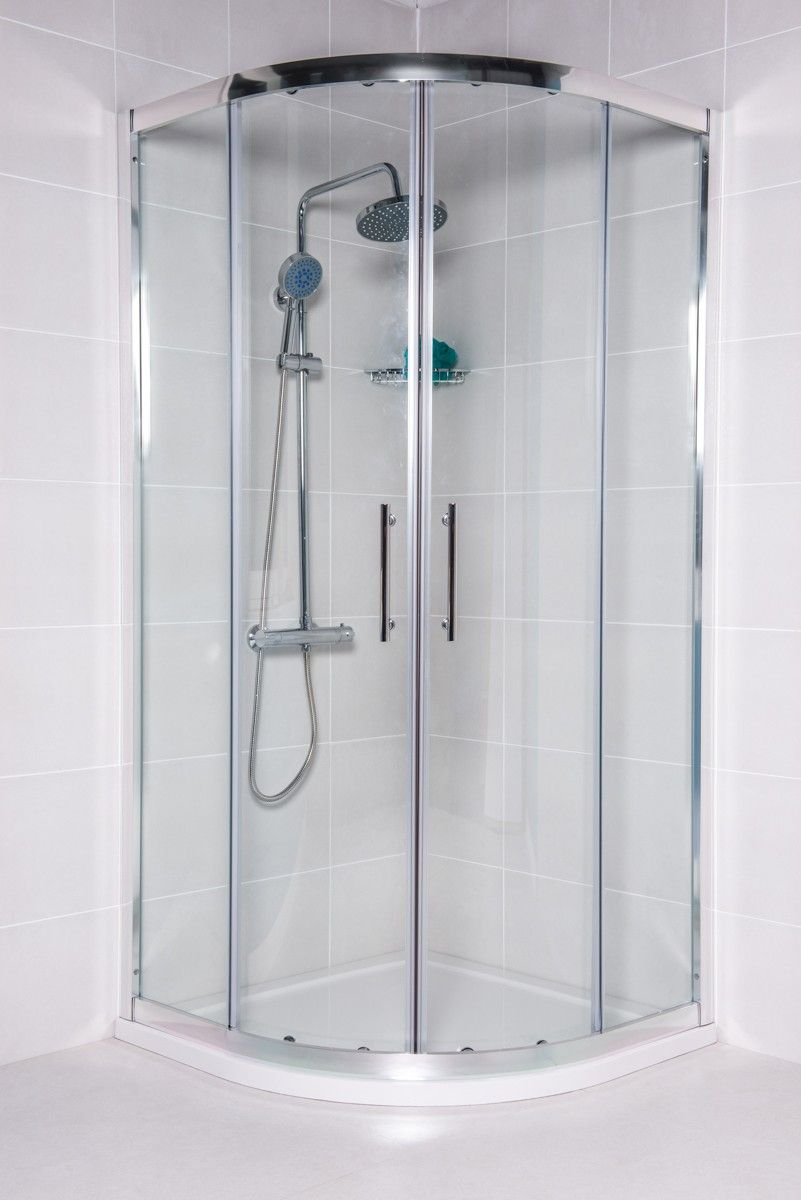 179.97 - Aquariss® 900mm Quadrant Shower Enclosure with Easy Clean ...
