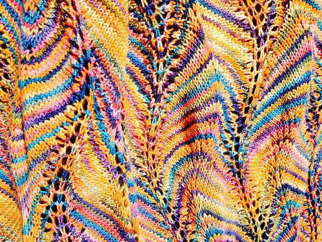 Shetland Ruffles pattern by Kieran Foley   Pinterest   Strickmuster ...