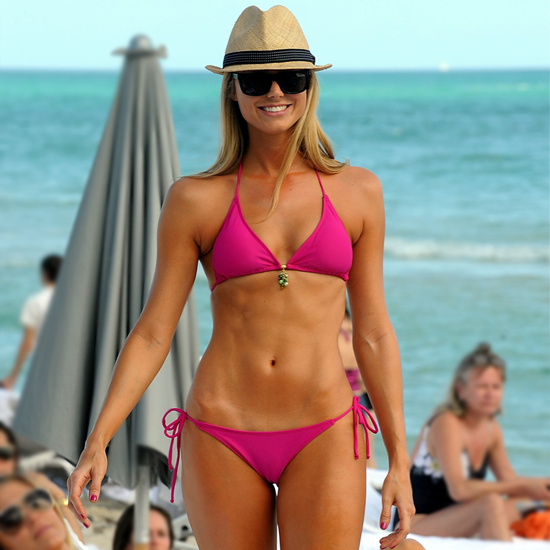 This is a great ab workoutTry This Bikini Abs Series From Pink and Stacy Keibler's Trainer!