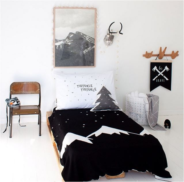 the boo and the boy kids\u0027 rooms on instagram KID ROOM - BLACK