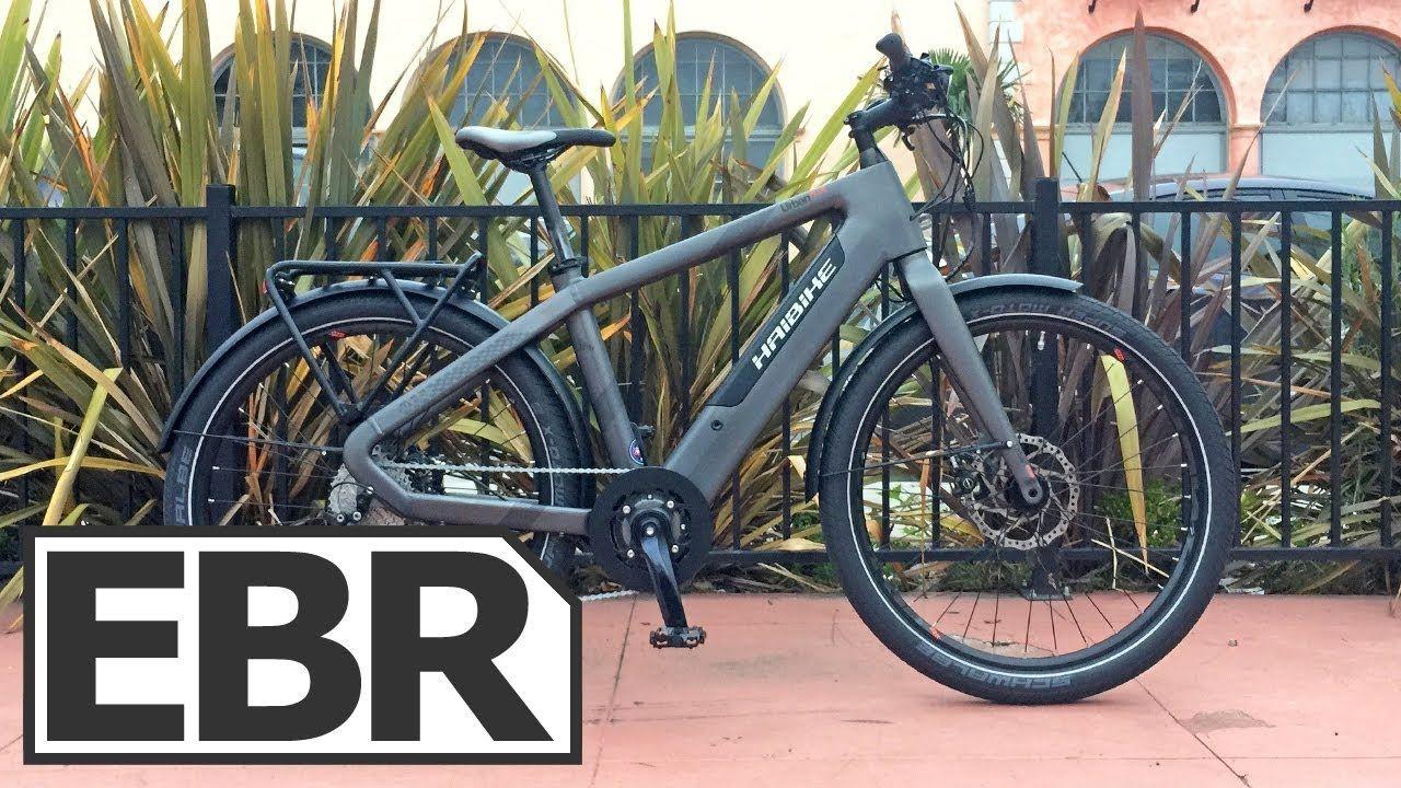 Haibike Urban Plus Video Review 3 6k Sporty Fast 45 Km H Commuter E Electric Bike Future Transportation Urban Electric
