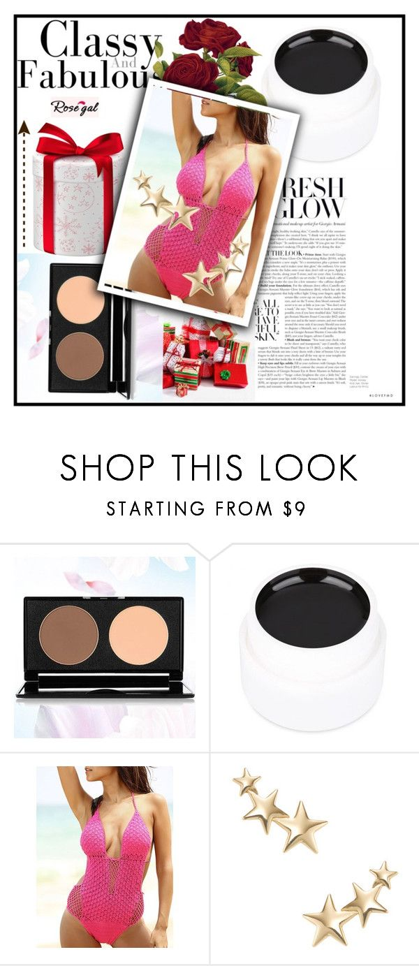 """#64 Summer-rosegal''"" by pepo-beckham ❤ liked on Polyvore featuring Kenneth Jay Lane"