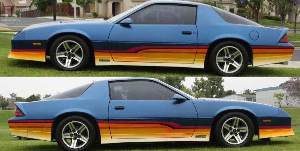 Live Out Your 80s Muscle Car Fantasies With This Retro Painted Iroc Z Retro Cars Muscle Cars Car