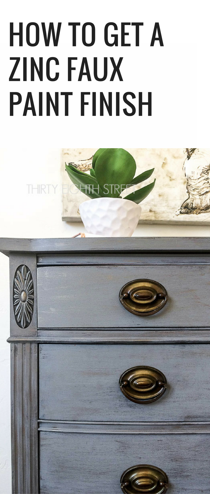 Faux Finish Furniture Painting Ideas Part - 46: How To Create A Restoration Hardware Faux Finish. Painting Furniture  Tutorial.