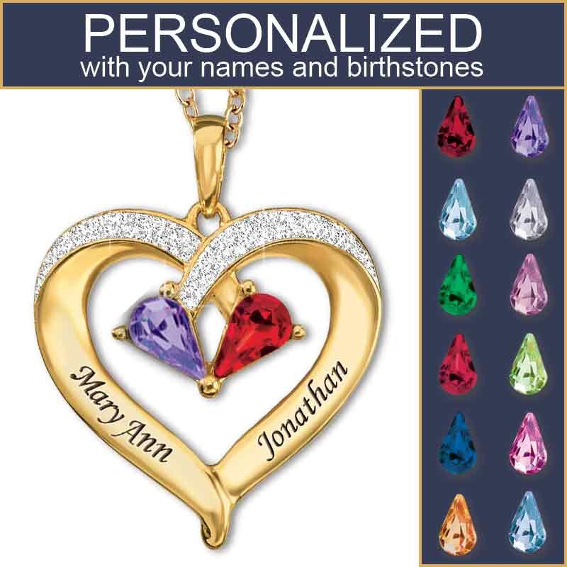 843e0f81381 Forever Together Birthstone & Diamond Heart Pendant | My Style ...