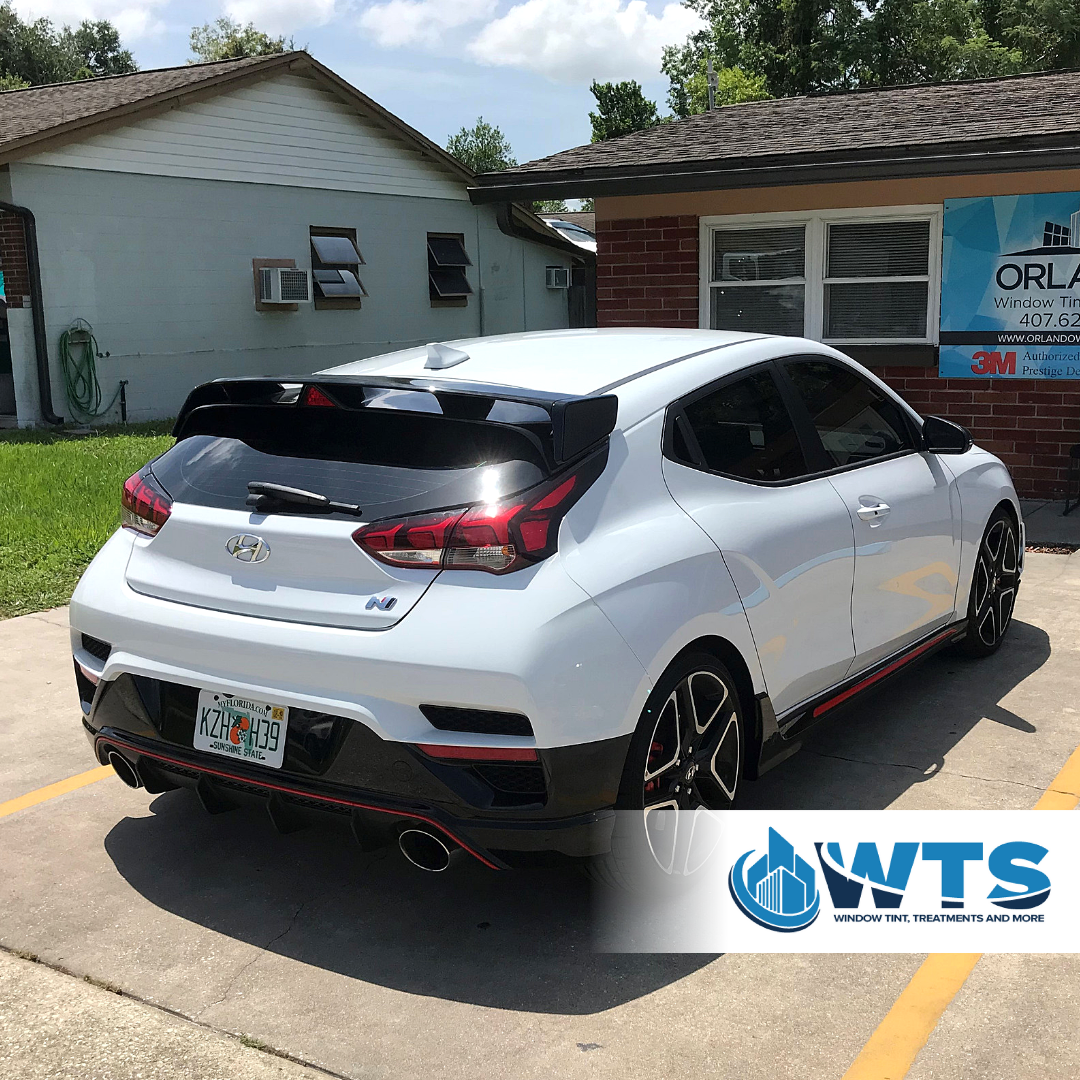 2019 Hyundai Veloster In 3m Color Stable Window Tint Which Provides Privacy And Keeps You Cool Color Stable Series Is Guaranteed Tinted Windows Tints Windows