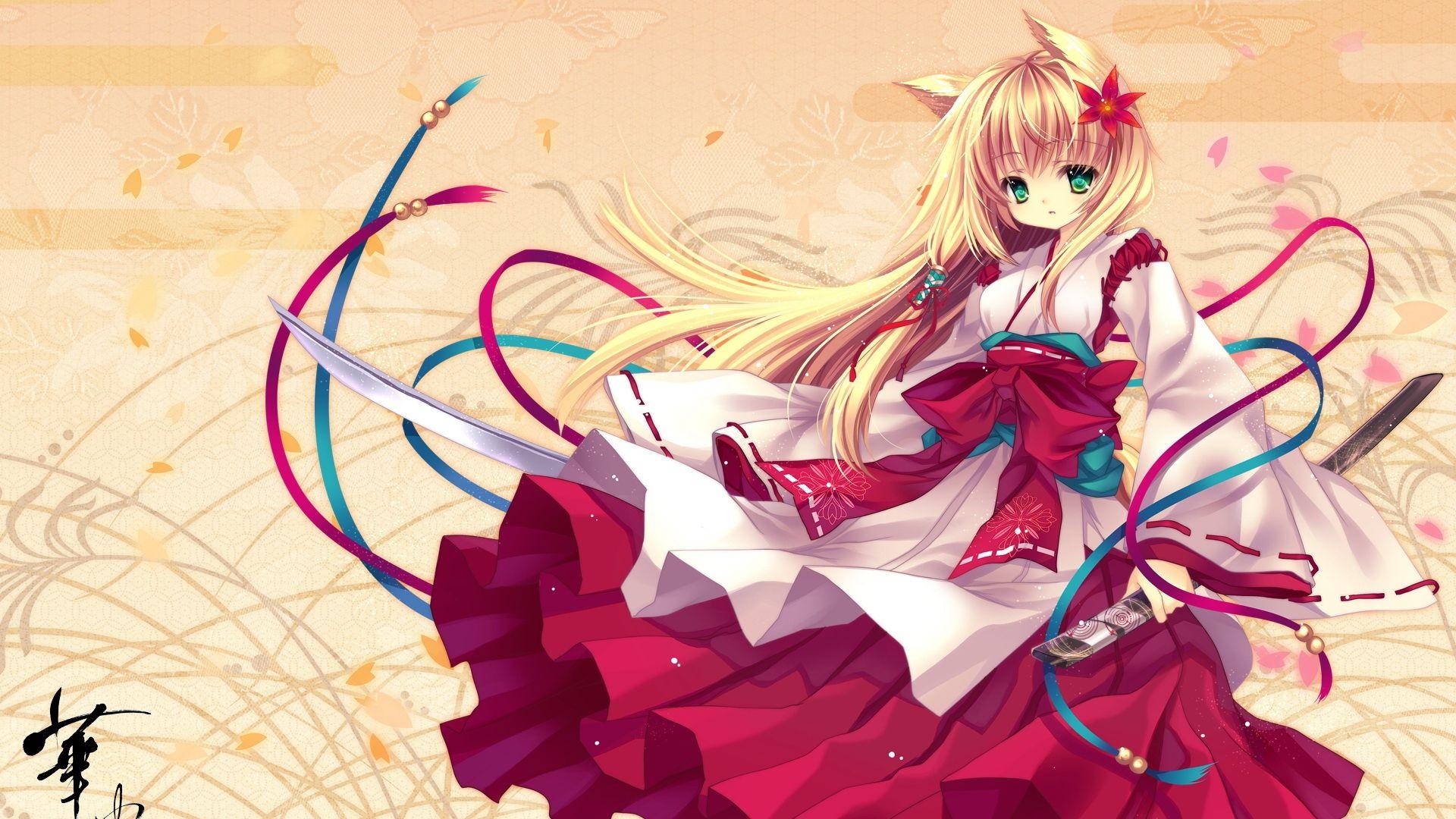 Full HD 1080p Neko girls Wallpapers HD, Desktop