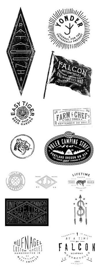 stamped logos