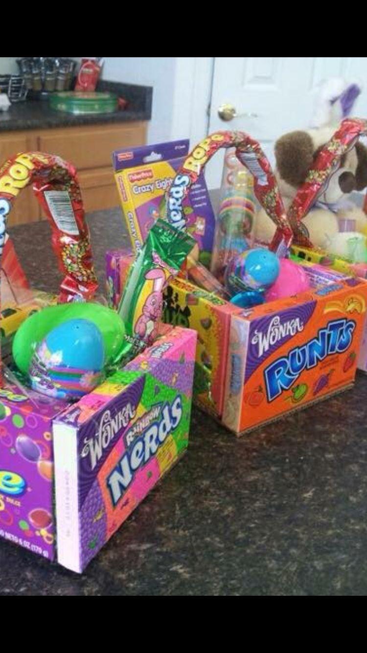 Candy Easter basket Edible easter basket, Easter basket
