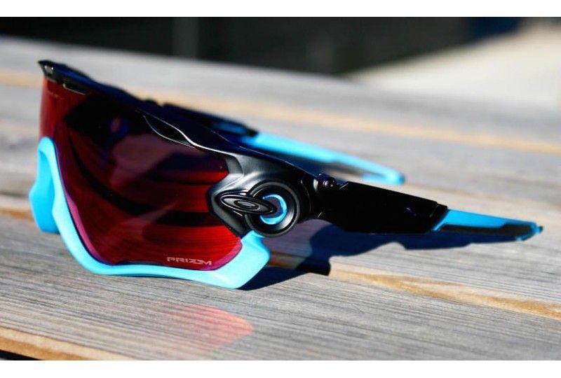 Jawbreaker Team Sky Matte Black Prizm Road   Oakley   Pinterest ... e6152f4aff