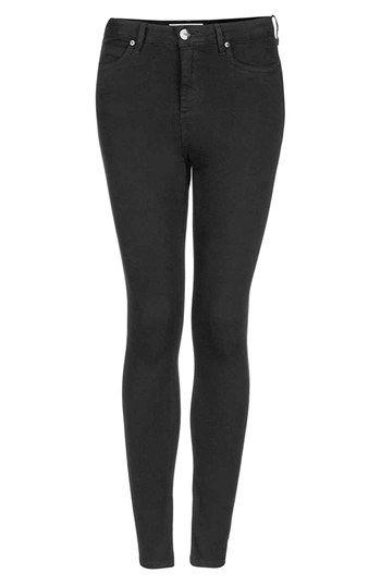Topshop Moto 'Jamie' High Rise Skinny Jeans (Petite