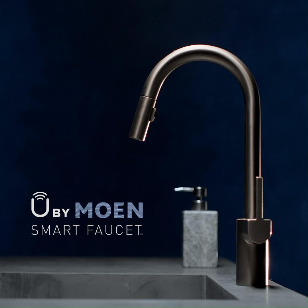 Control Water S Exact Amount And Temperature Using Your Voice With Our U By Moen Smart Faucet Video Smart Faucet Faucet Moen [ 1080 x 1080 Pixel ]
