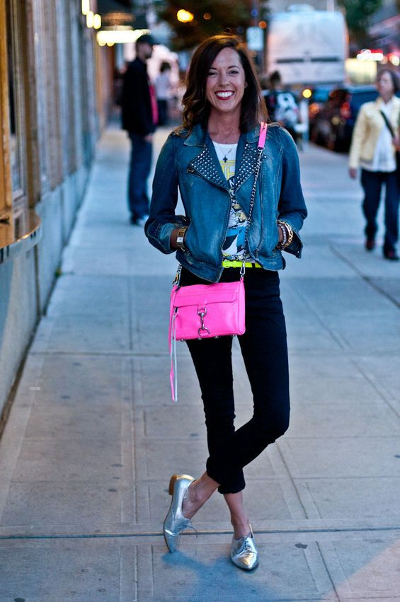 Love the bag, shoes and jacket - Fashion After 5: Hot Chip Seattle - Slideshows