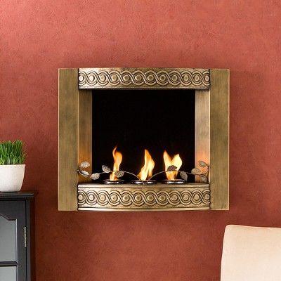 Beautiful Wall Mounted Gel Fireplace