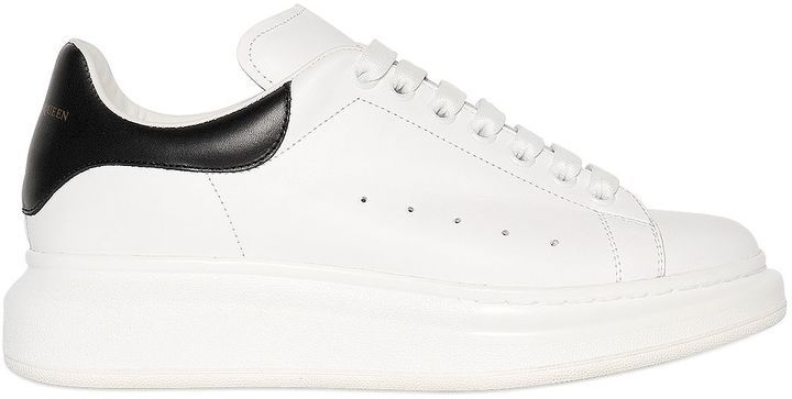 45mm Leather Platform Sneakers