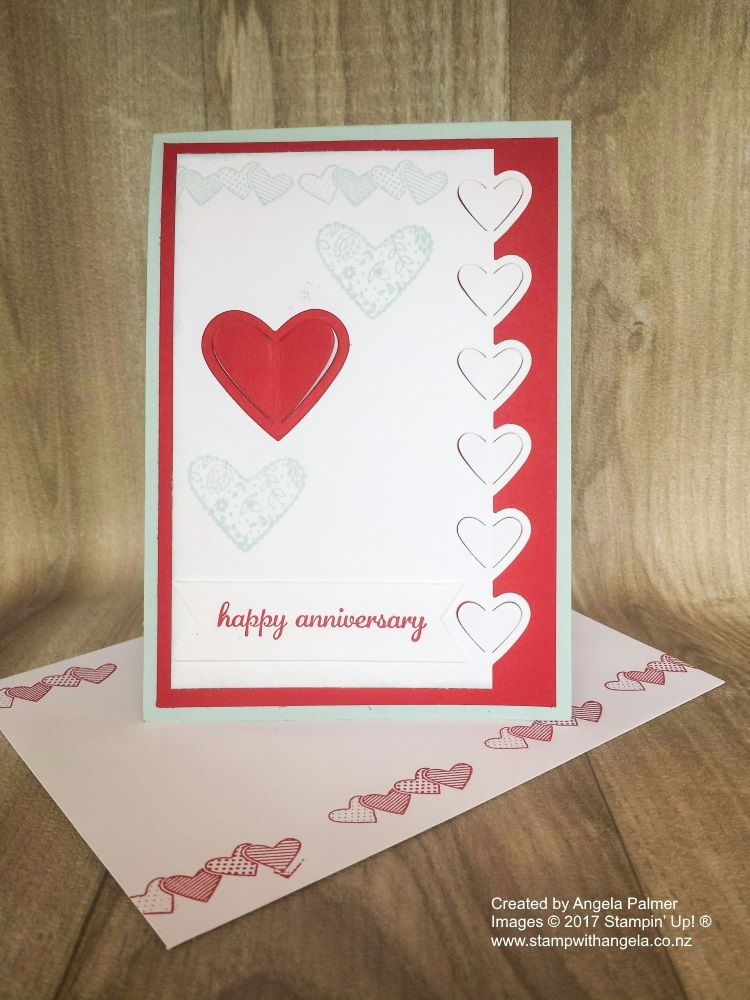 This Twist And Pop Card Will Wow Your Friends When They Open It Up This Is An Anniversary Card I Made For My H Happy Anniversary Cards Happy Anniversary Cards