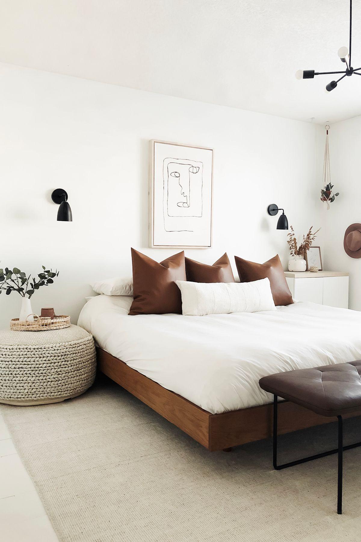 Basi Walnut Queen Bed Frame In 2020 Home Bedroom Bedroom Decor
