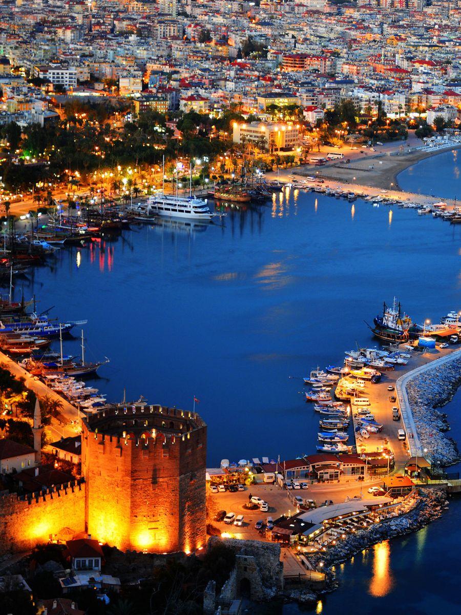 Alanya City, Turkey Alanya AlanyaHarbour