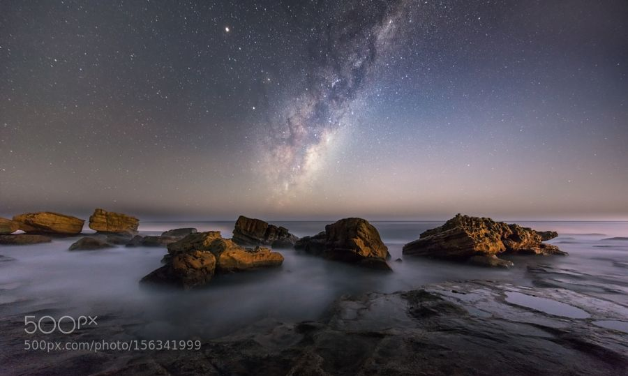 Milkyway Rise at Stones Beach by TonyLaw. Please Like http://fb.me/go4photos and Follow @go4fotos Thank You. :-)