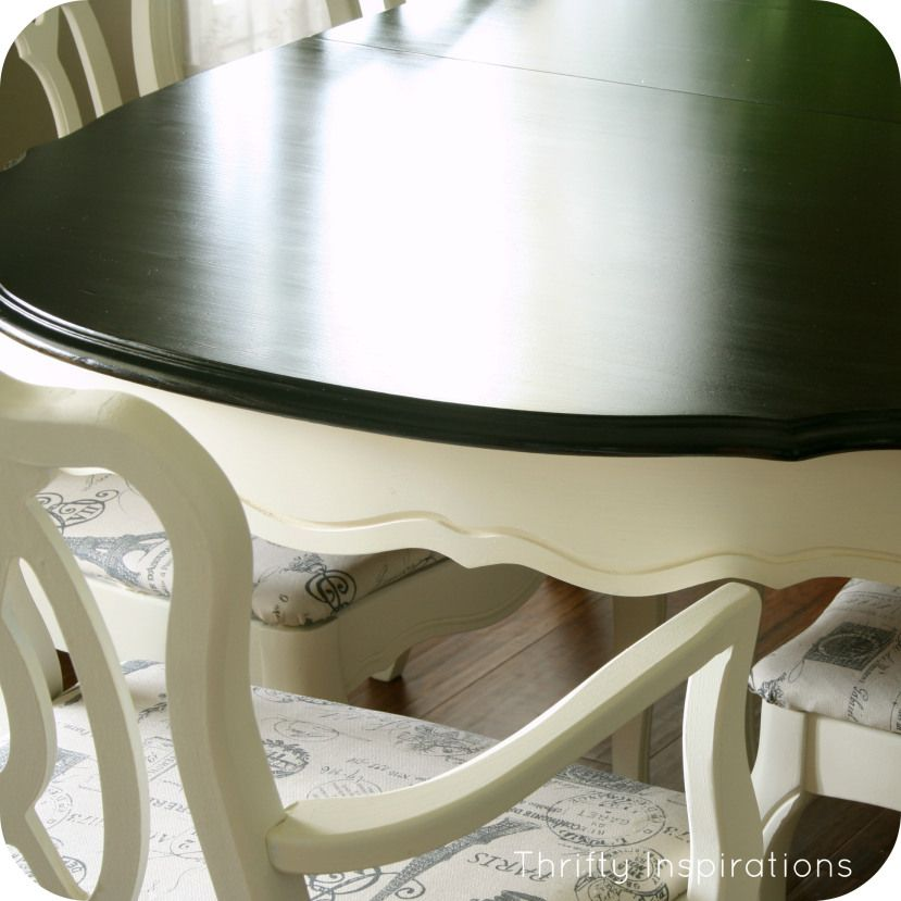 Tutorial For Refinishing Tables French Provincial Table