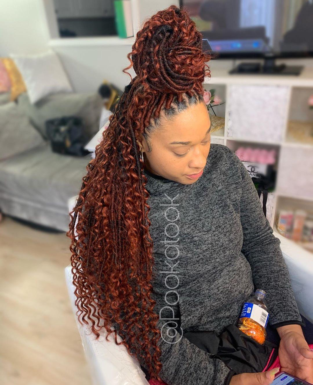 Pooka Took On Instagram Color 350 Openings Link In Bio Now Booking March Atlantahairstylist Knotlessbraid Hair Styles Beauty Hair