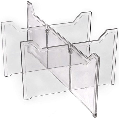 These Clear Plastic Drawer Dividers Are A Great Solution For Organizing  Socks Undergarments Jewelry And Other