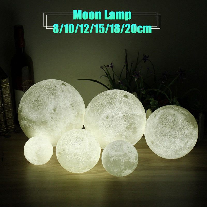 2017 3d Moon Lamp Usb Led Night Light Moonlight Gift Touch Sensor Color Changing Home Garden Lamps Lighting Ceiling Fa Moon Light Lamp Lamp Night Light