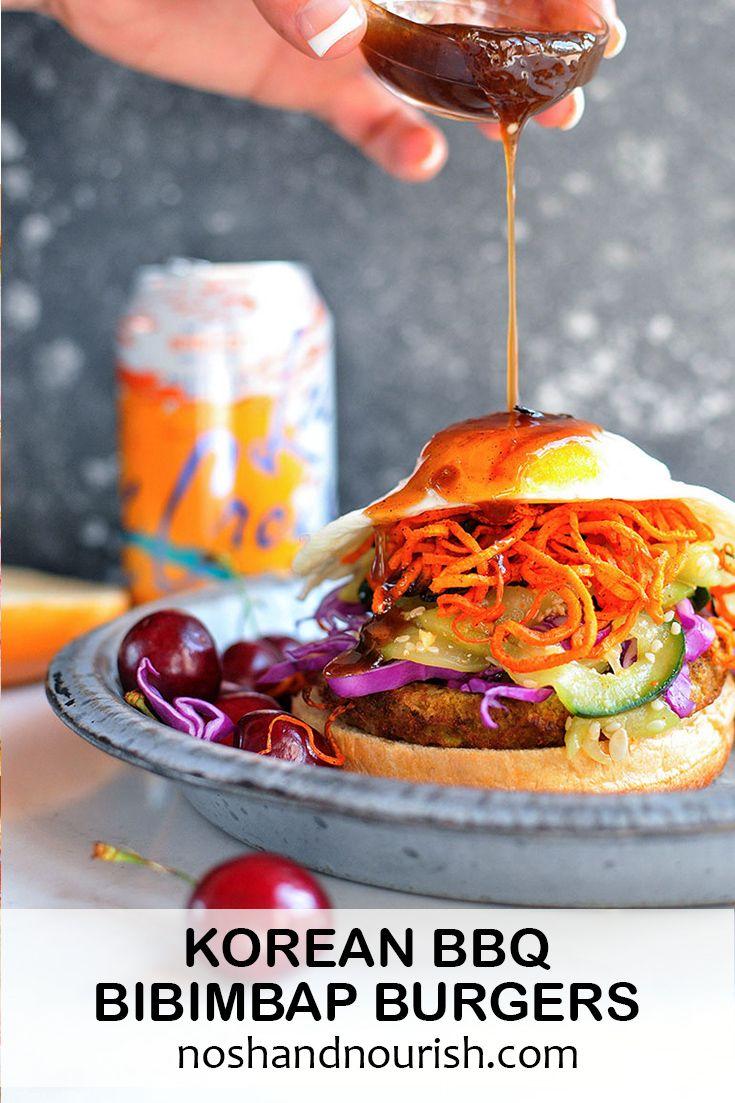 Korean bbq bibimbap veggie burgers recipe real food recipes foods forumfinder Image collections