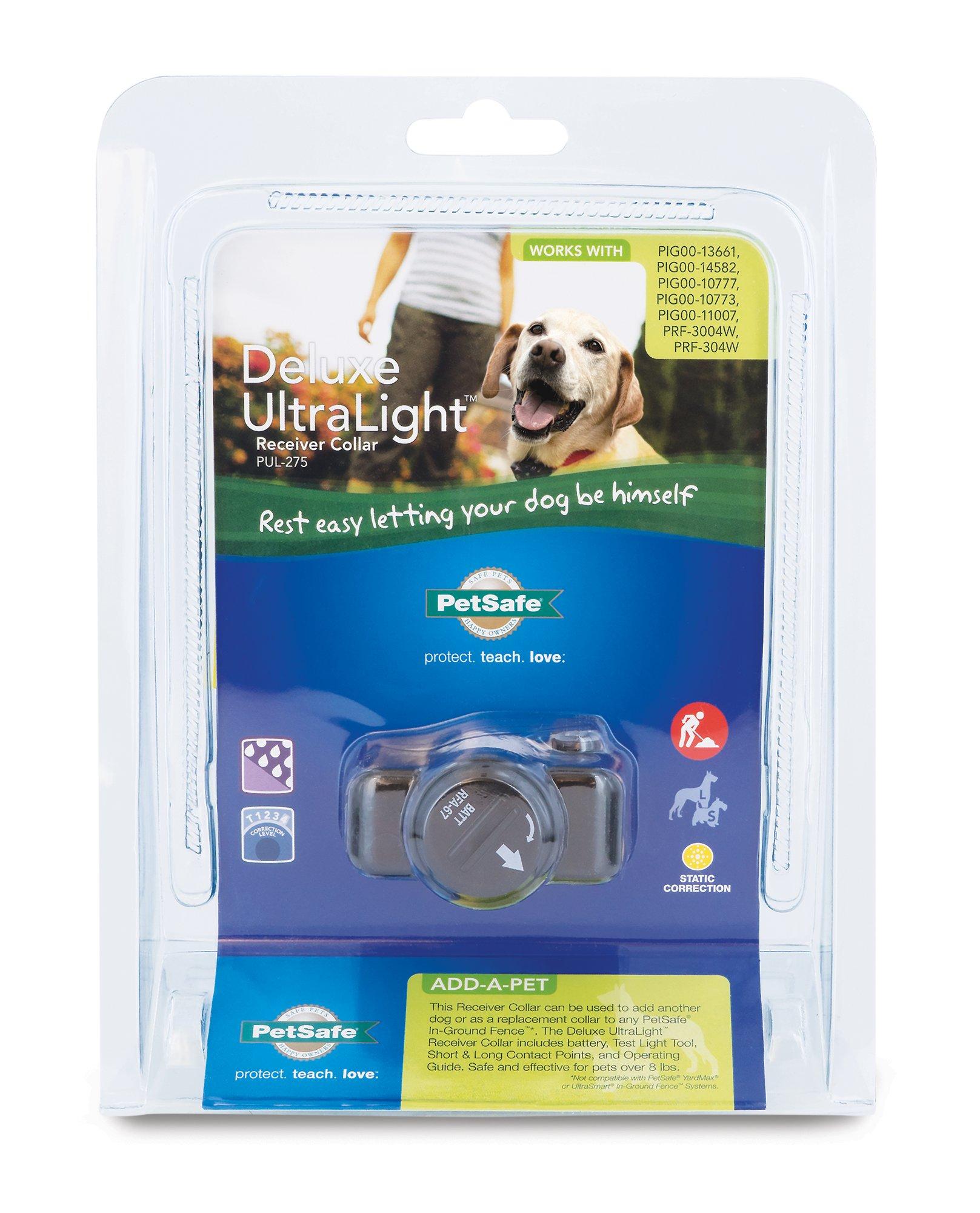 PetSafe Deluxe InGround UltraLight Receiver Collar Dog