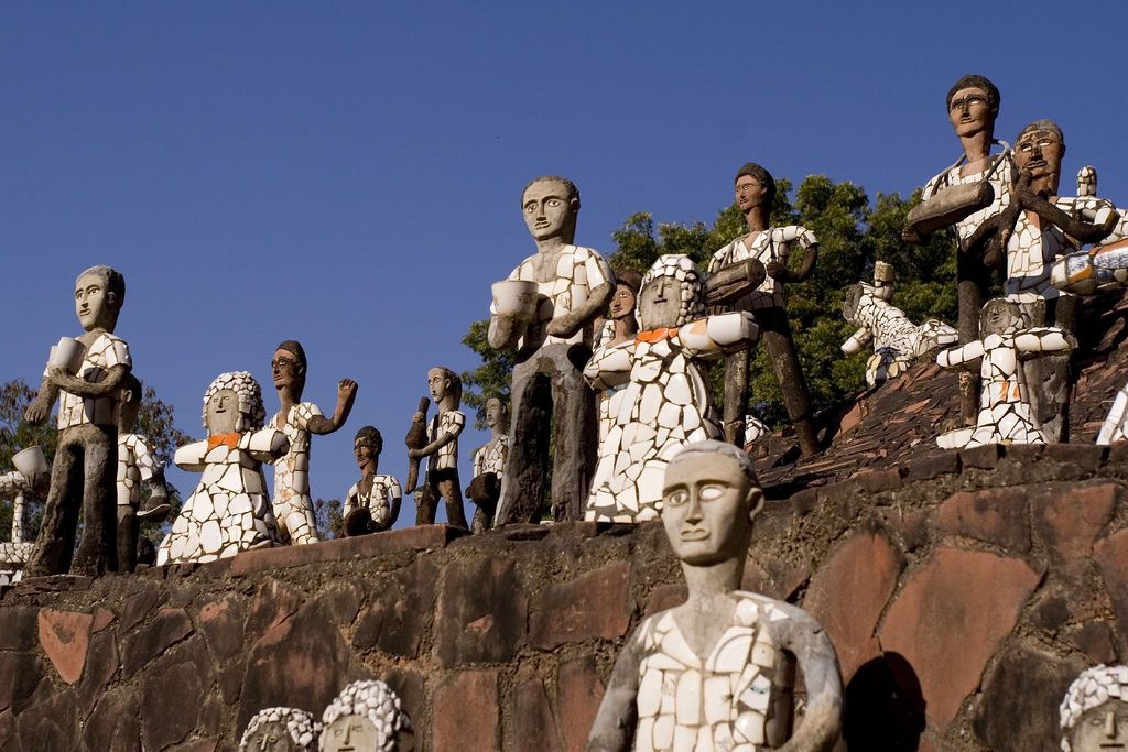 How one man's illegal passion flowered into a world-famous rock garden