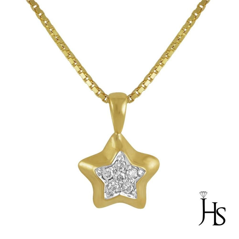 pendant diamonds necklaces jewellery star shape diamond